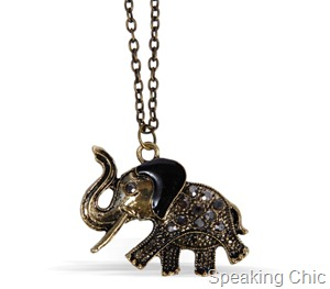 Elephant Charm from Toniq