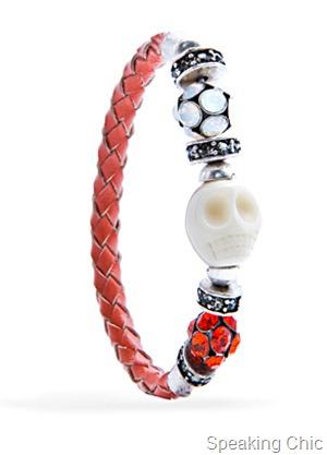 Mango Touch skull bracelet