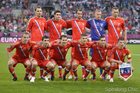 Russian football team