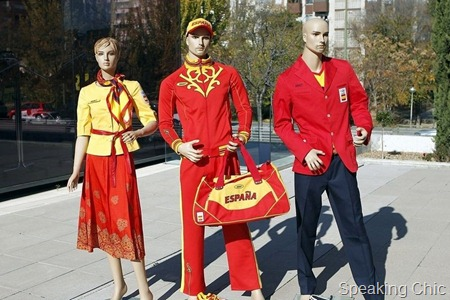 Spain Olympics team