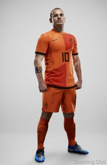Dutch uniform Euro 2012