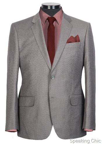 Van Heusen suit AW 12