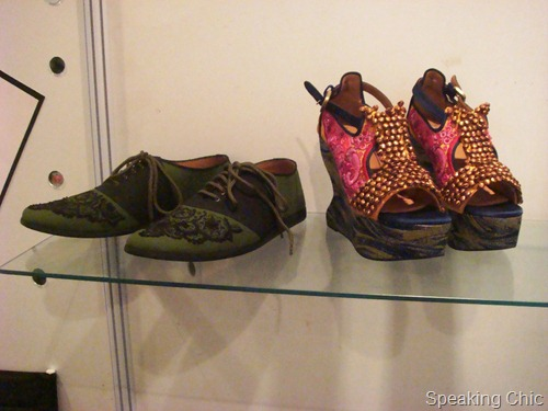 Rohan Arora shoes at LFW W/F 2012