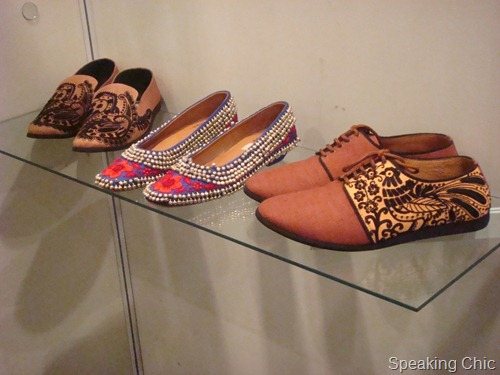 Rohan Arora footwear at LFW W/F 2012