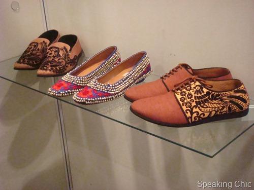 Rohan Arora footwear at LFW W/F 2012