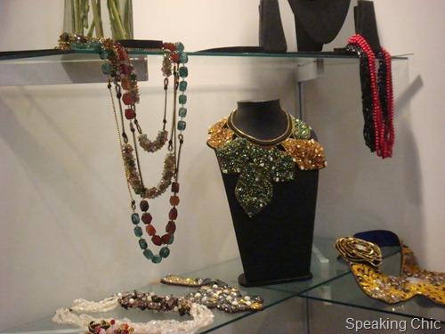 Neha Sharma accessories at LFW W/F 2012