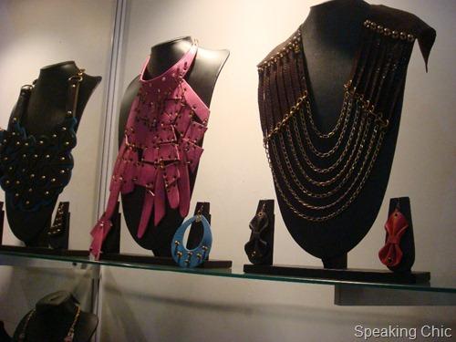 Sannam Chopra accessories at LFW W/F 2012