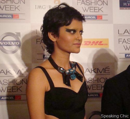 Shivan Narresh necklace LFW W/F 2012