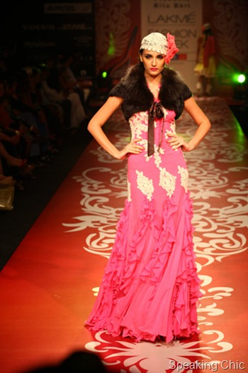 Ritu Beri Fifties at LFW W/F 2012