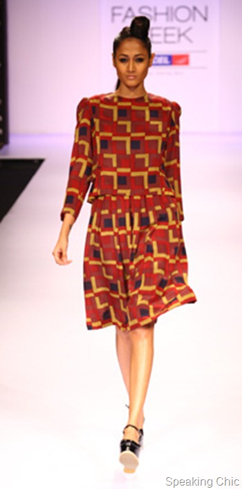 Shift by Nimish Shah at LFW W/F 2012