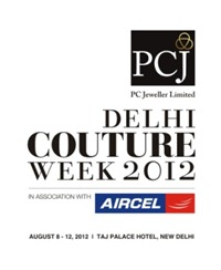 FDCI PCJ Delhi Couture Week 2012