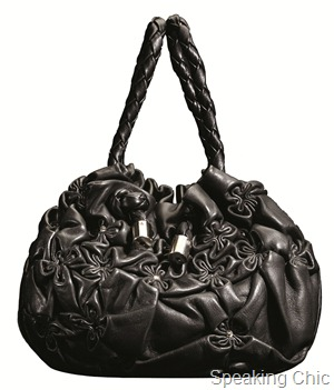 Hidesign Blossom evening bag_black