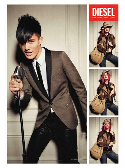 Diesel AW 12 Campaign
