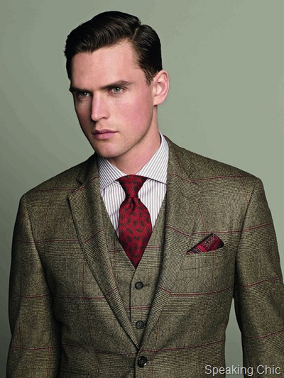Hackett London AW12 look