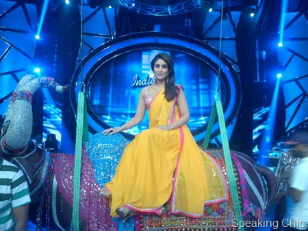 Kareena Kapoor at Indian Idol