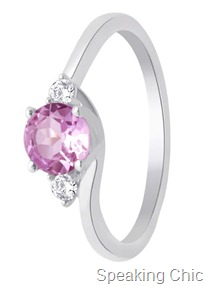 Lucera silver ring with stone 1095