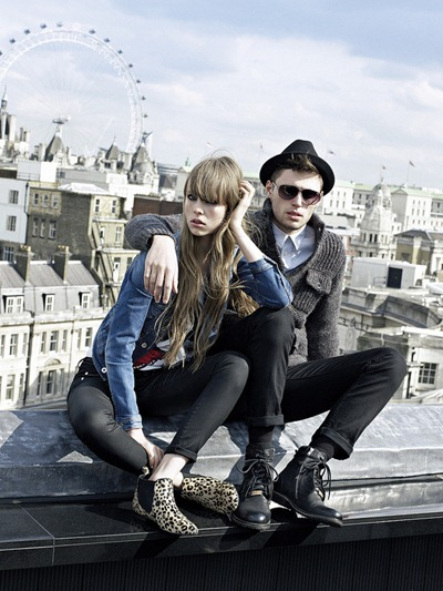 Pepe Jeans AW 12 campaign