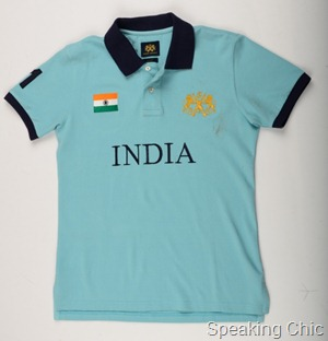 The Regular Fit India Polo in Nawab Blue INR 1399