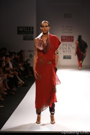 WIFW SS13 Kiran Uttam Ghosh