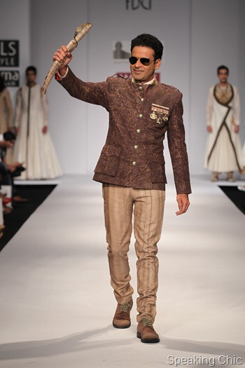 WIFW SS13 Manoj Bajpai for Samanth Chauhan