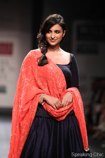 WIFW SS13 Parineeti Chopra for Manish Malhotra