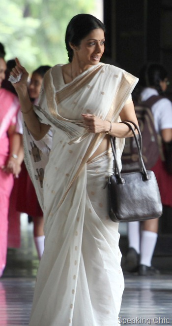 Sridevi with the Estelle bag