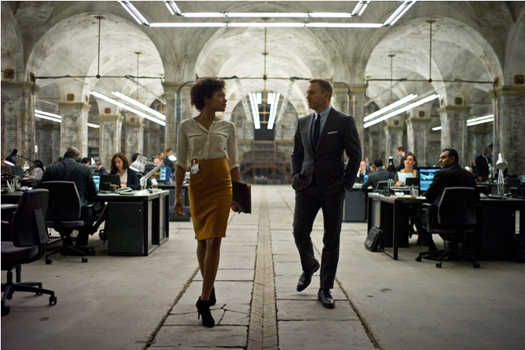 Naomie Harris in Skyfall