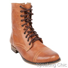 Steve Madden Troopah Tan leather