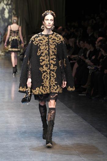 Dolce & Gabbana FW 2013 Baroque