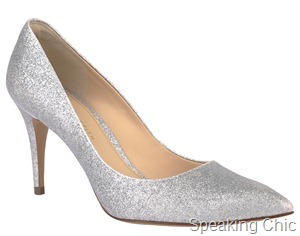 Charles & Keith silver shoes