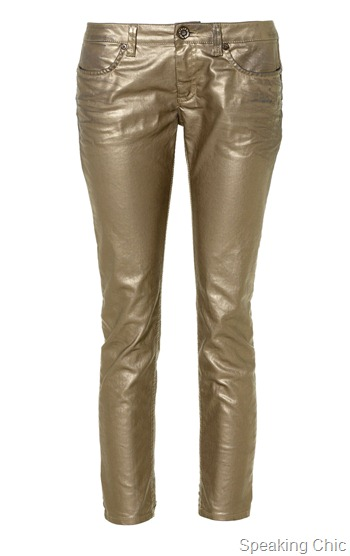 Sisley metallic pants