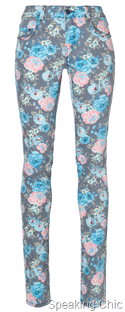 Vero Moda printed pants GAMBLER LW CURVED YOKE FLOWER rs 2695