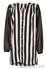 Vero Moda WP STRIPY LS LONG SHIRT rs 1995