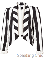 Vero Moda WP YANNI BLAZER STRIPED rs 2295