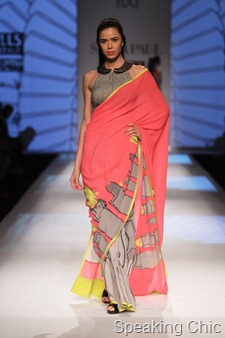 Masaba Gupta for Satya Paul WIFW AW 2013