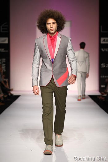 Sanjay Hingu at LFW SR 2013