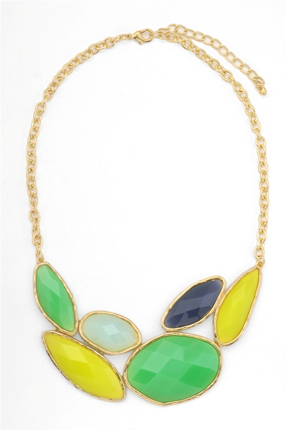 Multi-coloured necklace from Pipa + Bella