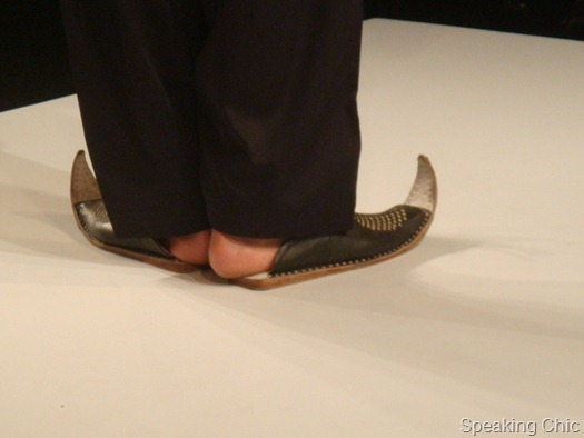 Shoes at Rohit-Abhishek LFW SR 2013