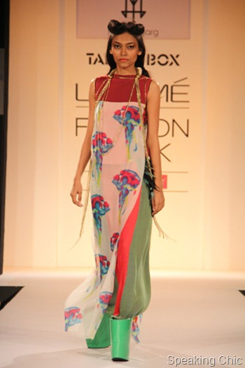 Megha Garg shoes at LFW SR 2013