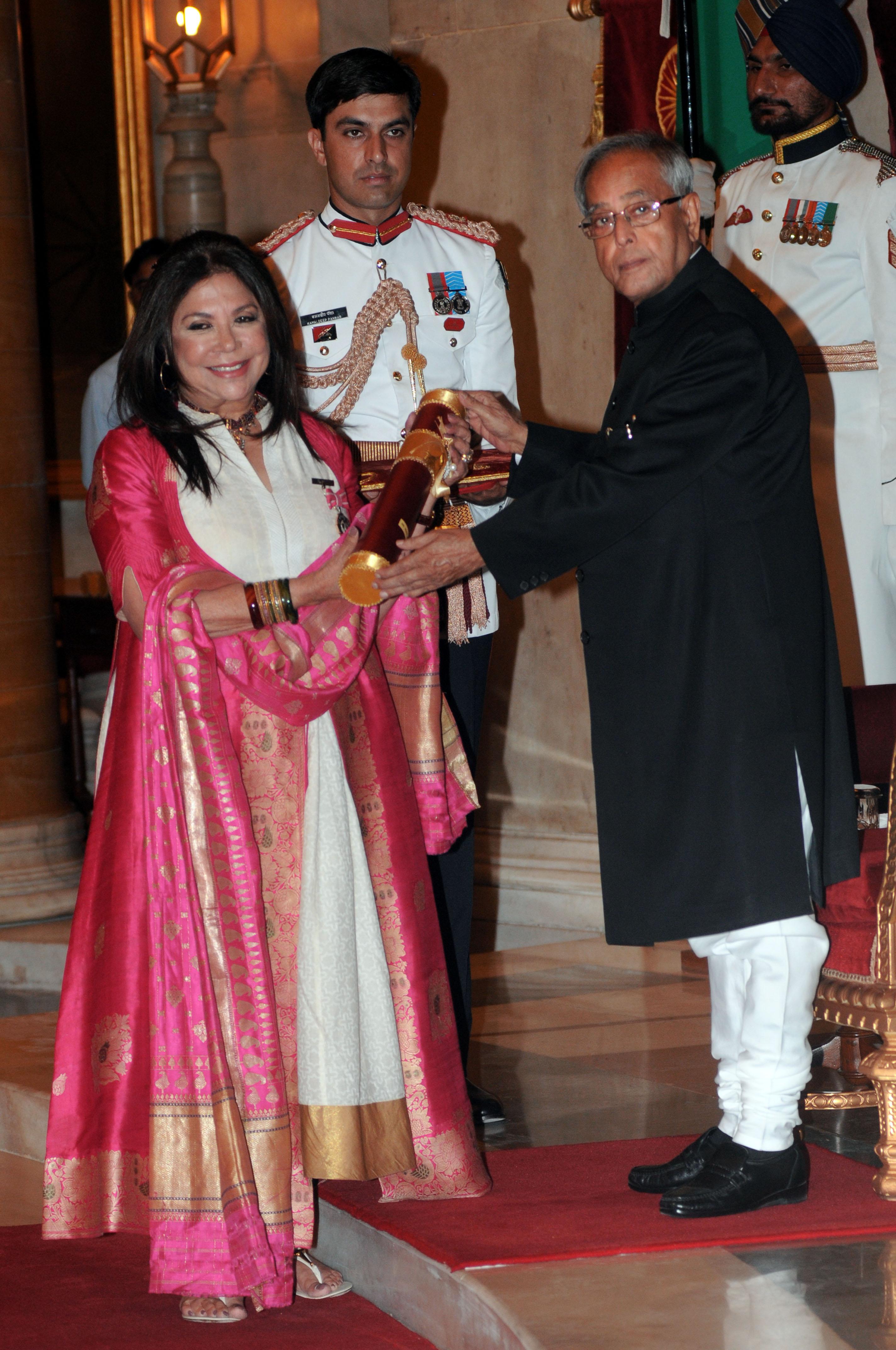 Ritu Kumar Padmashri 2013