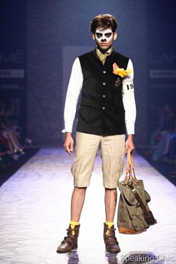 Arjun Khanna LFW SR 2013