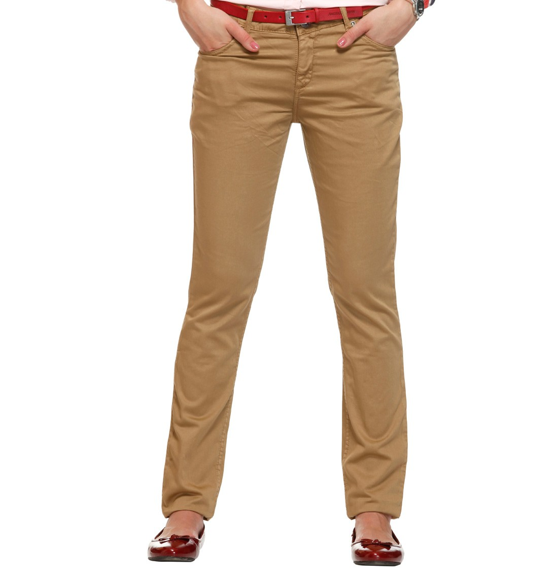 Easy-to-wear chinos