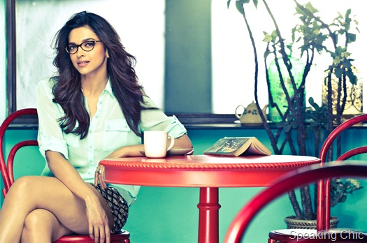 Deepika Padukone for Vogue Eyewear