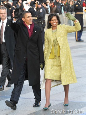 Michella Obama in Isabel Toledo