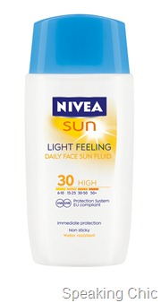 Nivea Sun Light_Feeling_Face_Fluid
