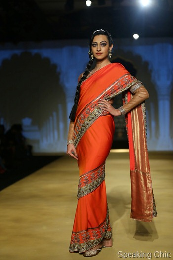 Ashima Leena at India Bridal Fashion Week Delhi 2013 (2)