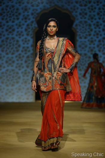 Ashima Leena at India Bridal Fashion Week Delhi 2013
