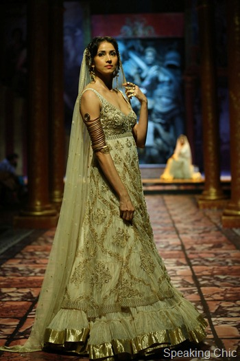 Suneet Varma at India Bridal Fashion Week