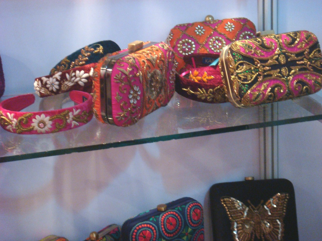Clutches by Karieshma Sarna