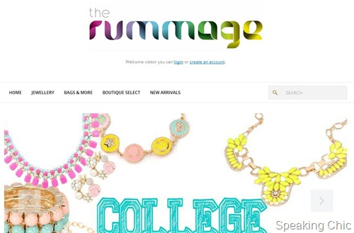 Rummage accessories home